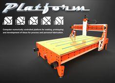 Brian Oltrogge | Grünblau Design Studio | Platform CNC Production Run