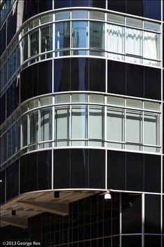 120 Fleet Street / SW corner | Flickr - Photo Sharing! Streamline Moderne, Fleet Street, Reinforced Concrete, London City, Clear Glass, Corner, Architecture, Building, Design