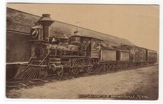 Rio Grande Railroad Train Brownsville Texas 1916 Postcard | eBay