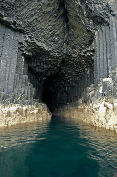 Cave of Melody (Fingal's Cave), Scotland