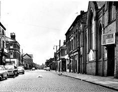 Liverpool - Park Hill Road and Mill Street, 1960s by ronramstew, via Flickr King John, Liverpool Home, Old Photos, Lantern, 1960s, Past, Street View, Shades, Fancy