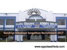 Kendriya Vidyalaya Recruitment 2017 – Nurse and CI Posts: Kendriya Vidyalaya CRPF Durgapur has distributed a notice for the enrollment of PGT, Primary Teacher, Computer Instructor, Games and Sports Instructor, Dance Coach, Counselor, Yoga Teacher, Doctor and Nurse Posts. Qualified applicants may go to Walk in Interview from 20.03.2017 to 25.03.2017. Other all subtle elements like age farthest point, instructive capability, choice process, application expense, how to apply and other data are…