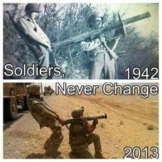 Militär humor: 1942 vs. 2013