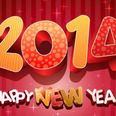 Happy New Year 2014 Greeting