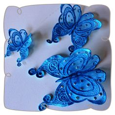 3D Lace Butterfly 4 machine embroidery design