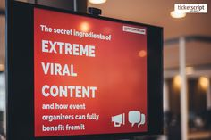Peter Minkjan 'The secret ingredients of extreme viral content and how event organisers can fully benefit from it.' #eventtalks #eventprofs #eventmarketing
