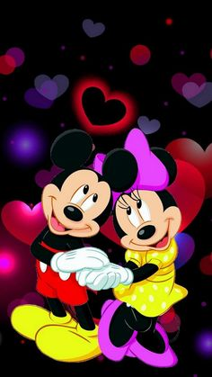 Image about wallpaper in mickey & minnie mouse💖 by A♡ LOVE LIVE Disney Mickey Mouse, Retro Disney, Arte Do Mickey Mouse, Mickey Mouse Y Amigos, Mickey Mouse Pictures, Minnie Mouse Pictures, Mickey Mouse Cartoon, Mickey Mouse And Friends, Disney Art