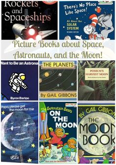 First friday in May is Space Day! Here's a list of picture books about space, astronauts, and the moon! (what are your favorites!?)