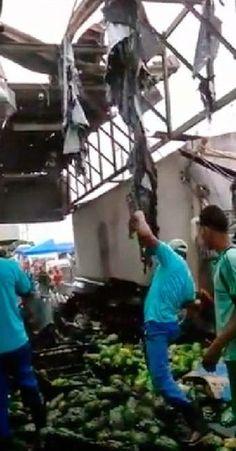 SIMÕES FILHO: Vítimas de explosão na Ceasa recebem alta do hospital de Simões Filho LEIA MAIS EM WWW.OBSERVADORINDEPENDENTE.COM