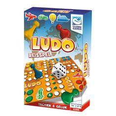 Heb jij geluk, speel jij slim en heb jij alle vier je pionnen als eerste binnen? Dan heb jij dit spelletje Ludo gewonnen! Een leuk gezelschapsspel waar je tactiek en geluk moet combineren om te winnen. Dit spel is een speciale reiseditie, zo kun je dit familiespel overal spelen. Afmeting: verpakking 18 x 11,5 x 4 cm - Clown Ludo