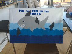 Pin the Fin on the Shark board DYI w felt