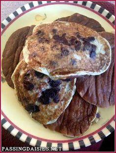 Paleo Chocolate Chip Pancakes | DIY Paleo