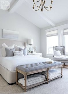 Creating A Calming Abode - Designer Kelley McNamara shares 10 tips to creating a serene family home.
