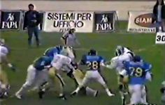 "https://flic.kr/p/aavewC | Edgardo ""Eddie"" Donovan - #28 Pesaro Angels  American Football 1991 