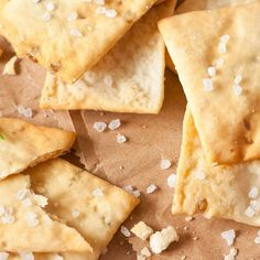 Herb & Sea Salt Chick Pea Crackers - vegan and gluten free Flour Recipes, Gluten Free Recipes, Bread Recipes, Snack Recipes, Healthy Recipes, Chickpea Snacks, Chickpea Recipes, Salt Crackers, Bread Bun