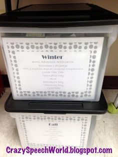 Love this idea!  Great idea for storing all your TPT purchases or personal materials...