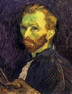 Friends of Vincent (@VanGoghADay)   Twitter  Self-Portrait Oil on canvas Saint-Rémy: late-August, 1889 Washington: National Gallery of Art