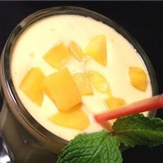 Mango Lassi-Come-Home Recipe - This drink is a refreshing accompaniment for your favorite curry dish.
