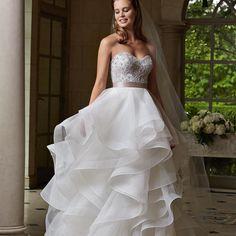Wunderschöne neue Brautkleider von Watters