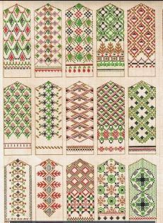 Lovely Latvian mitten patterns - not actual knitting patterns just the image here unfortunately because I want to make them all. So pretty. Knitting Charts, Knitting Stitches, Knitting Designs, Knitting Projects, Hand Knitting, Knitting Patterns, Beading Patterns, Color Patterns, Mittens Pattern