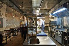 Burger Kitchen Restaurant by 77 Creative