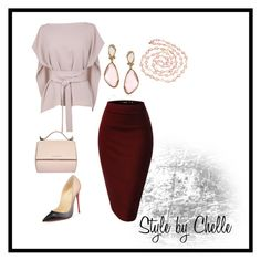 """What I would wear..."" by ciliayvette ❤ liked on Polyvore featuring TIBI, Christian Louboutin, Givenchy, Mark Broumand and Chanel"