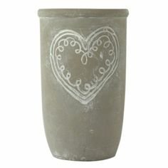 This Grey Stone Heart Vase will look great holding flowers or just on its own as a standalone accessory Holding Flowers, Stone Heart, Small Heart, Grey Stone, New Pins, Home Accessories, Vase, My Style