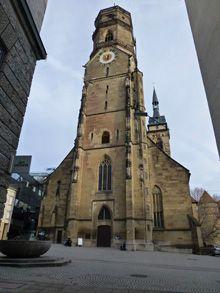 Iglesia Colegiata Stiftskirche, Stuttgart, Alemania