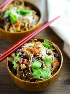 Las Mejores recetas de la comida asiática Healthy Pastas, Healthy Foods To Eat, Healthy Eating, Wok Recipes, Healthy Soup Recipes, Pan Fried Eggplant, Vegan Pasta, Lose Weight Naturally, Fresh Vegetables