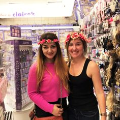 At Claire's, Madrid