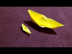 Origami boat- YouTube