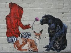 STREET ART - BANSKY - (StraatKunst)