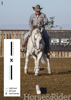 Lead-Change Precision. Use my best lead-change drill to sharpen your horse's lead change or banish bad habits, such as leaning into the change.