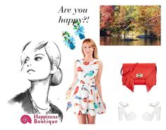 """""""Colourful Madness"""" by happinessbtq ❤ liked on Polyvore featuring ColoredPrints, Diane Von Furstenberg, Nly Shoes, StatementEarrings and happinessbtq"""
