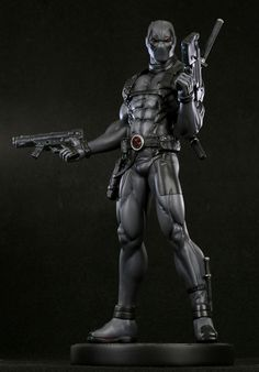 Deadpool Bugle: Bowen Designs X-Force Deadpool Statue