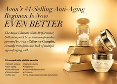 Welcome to Campaign 13!!! To kick it off Avon's Anew Ultimate Skin Care Collection is available for the mix or match any 2 for $40.00. That could mean a savings up to $36.00.