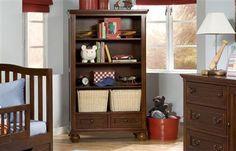 American Spirit Casual Brown Cherry Bookcase