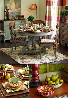 Traditional Comforts | Dining Room Decorating Ideas & Inspirations ǀ Pier 1 Imports