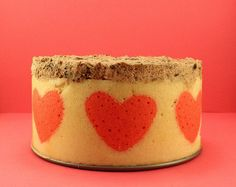January Daring Bakers Biscuit Joconde by Made With Pink, via Flickr