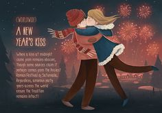 Artist Illustrates Unusual and Romantic Holiday Traditions from Around the World - My Modern Met