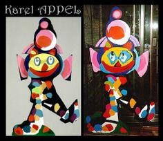 karel Appel Le cirque dans l'art pictural