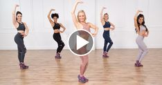 Cardio Dance Workout Celebrities Love So fun you will forget it's a workout! You will dance away those calories and break a sweat in no time! The perfect dance workout! Zumba Fitness, Sport Fitness, Dance Fitness, Fitness Workouts, Exercice Step, Rest Day Workouts, Video Sport, Calorie Burning Workouts, 30 Minute Cardio