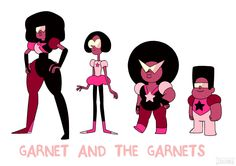 Artist: Dou Hong. Garnet and the Garnets