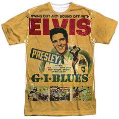 Elvis Presley ICON Licensed Juniors V-Neck Tee Shirt