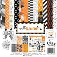 "Glitz Design Raven: 12"" x 12"" Collection Pack"
