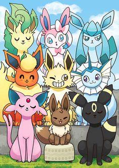 los mas lindos pokemones