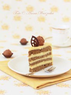 Tort kawowy z ajerkoniakiem