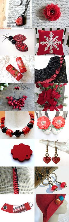 Red passion°¨¨°º♥✿♥º°¨¨° by Nera on Etsy--Pinned with TreasuryPin.com