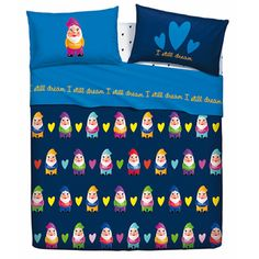 Sleeping with gnomes/ gnome Lauren gnome sheets for you!!!