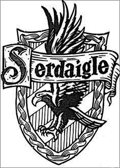 Harry Potter Hogwarts School Crest Graphics SVG Dxf EPS